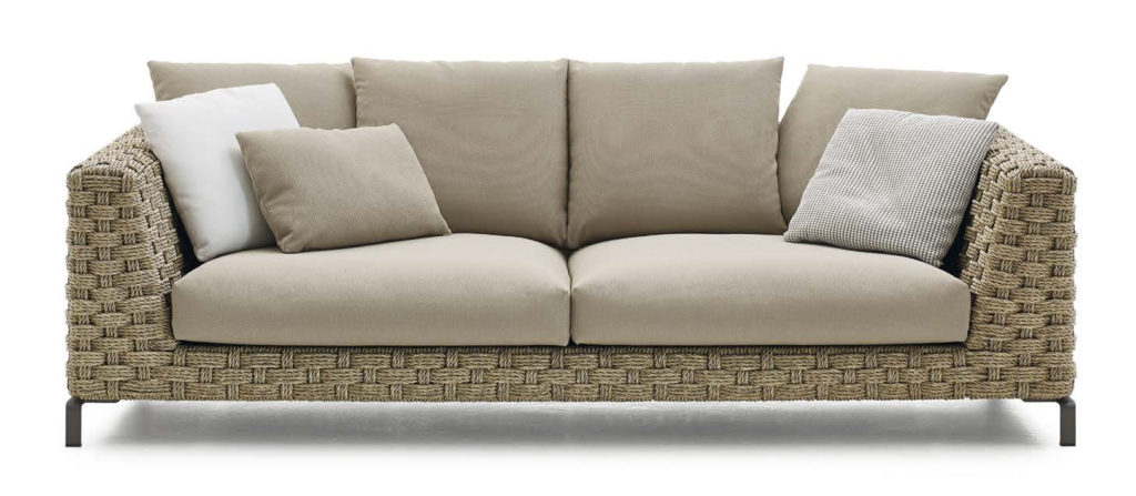RAY OUTDOOR SOFA - NATURAL 02