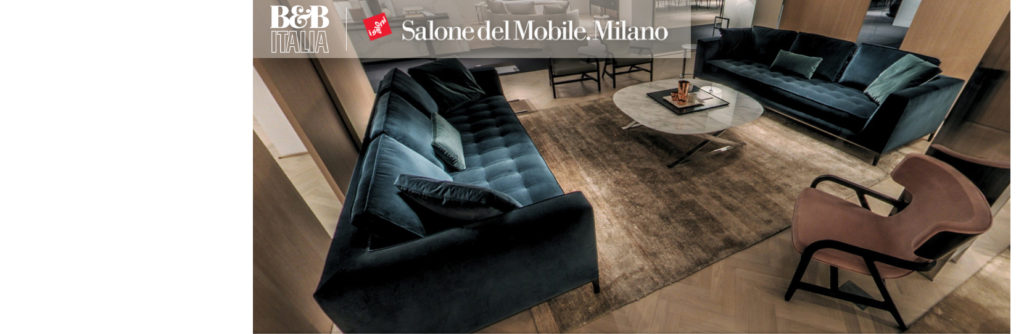 B&B Italia: Salone del Mobile 2017 - Diva Furniture / B&B Italia ...