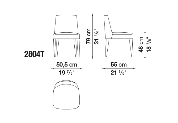 FEBO DINING CHAIR 2804T