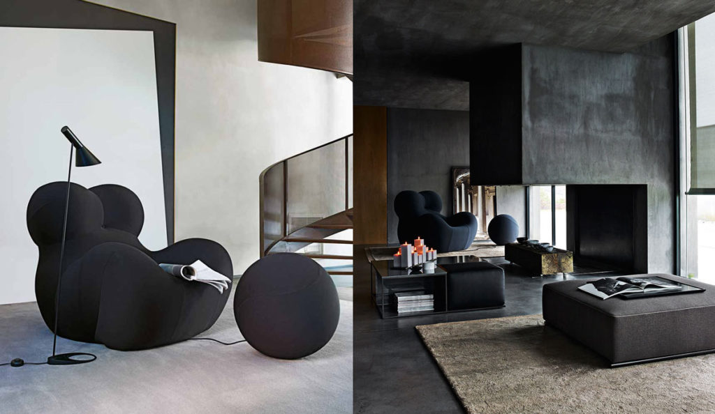 Serie Up 2000 Armchair-The Trendiest B&B Italia Pieces in Design Right Now- Diva Furniture Seattle